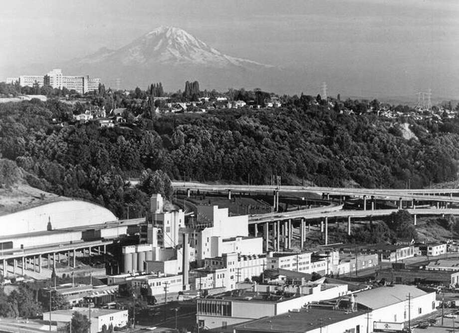 Rainier brewery in 1978. Photo: P-I File