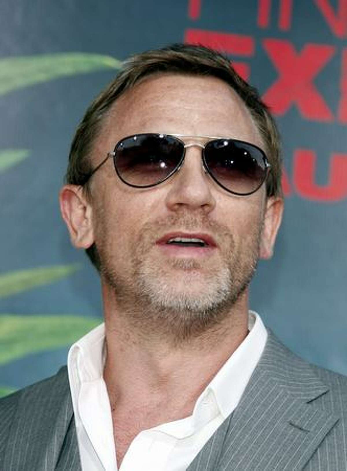 Actor Daniel Craig.
