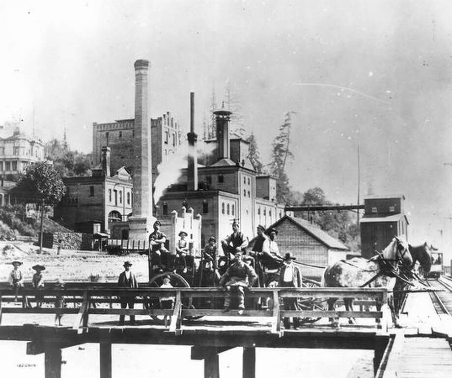 Rainier Brewery. Undated Photo: P-I File
