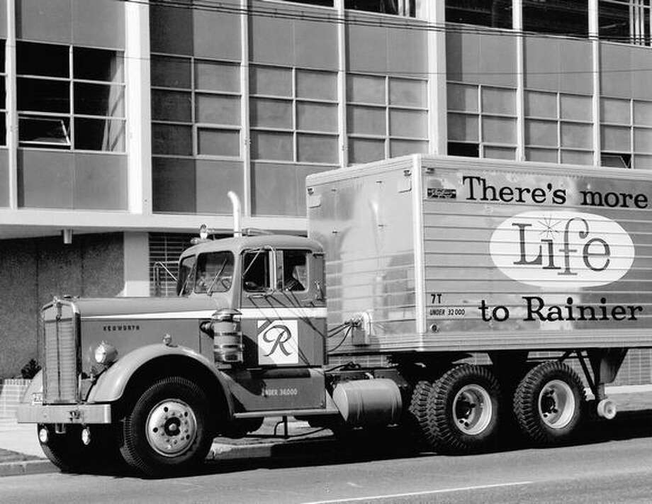 A Rainier delivery truck, exact date unknown. Photo: P-I File