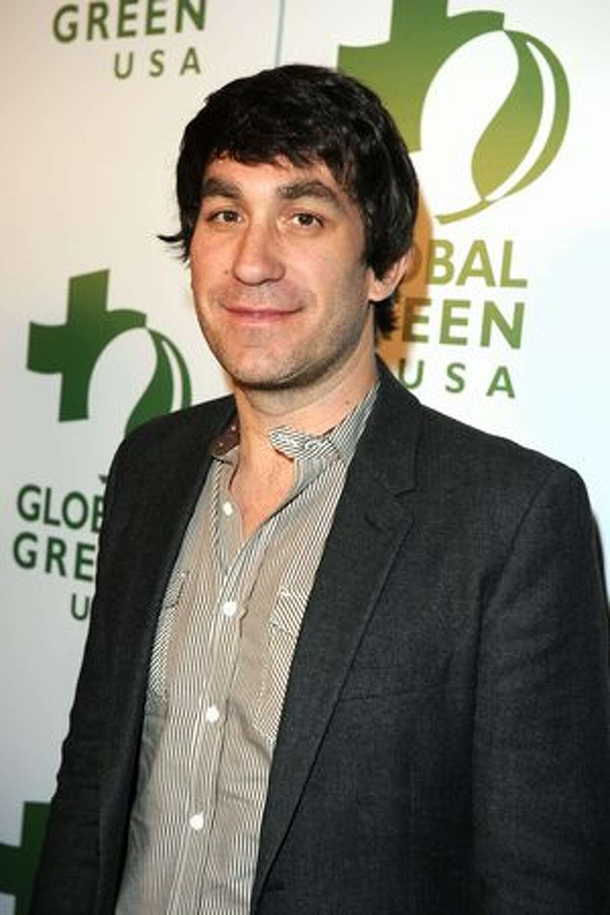 DJ Brent Bolthouse attends Global Green USA's 7th Annual Pre-Oscar Party at Avalon in Hollywood, California.