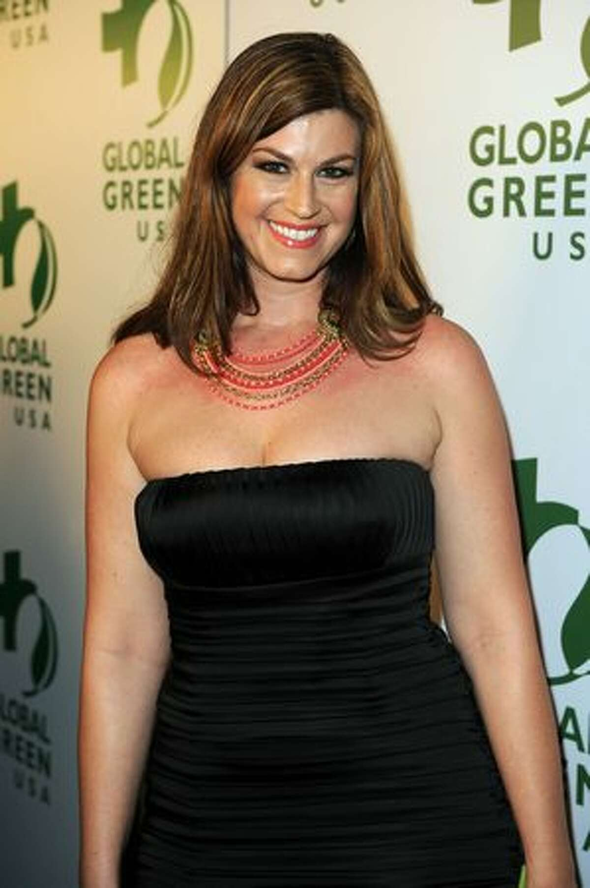 Actress Pleasant Wayne arrives at Global Green USA's 7th Annual Pre-Oscar Party at Avalon in Hollywood, California.
