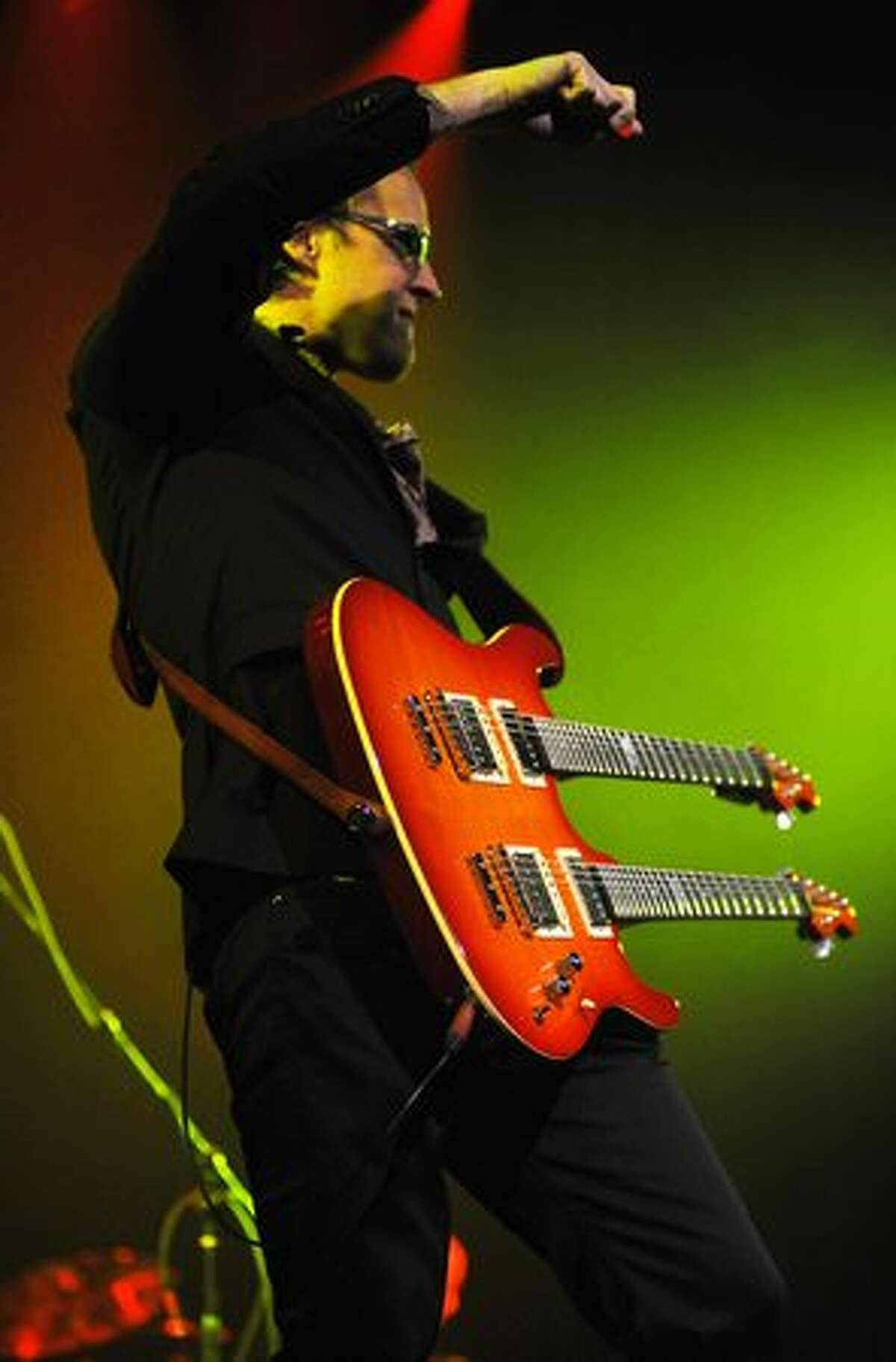 Joe Bonamassa performs at The Moore Theater in Seattle on March 5, 2010.