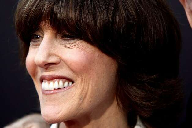 "Writer/Director Nora Ephron at screening of her last movie, ""Julie & Julia,"" in 2009, with Meryl Streep starring as chef/author Julia Child. Photo: Getty Images"
