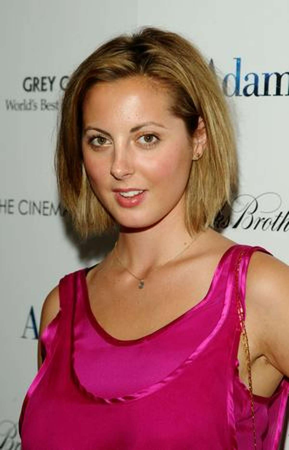 Actress Eva Amurri attends The Cinema Society & Brooks Brothers screening of