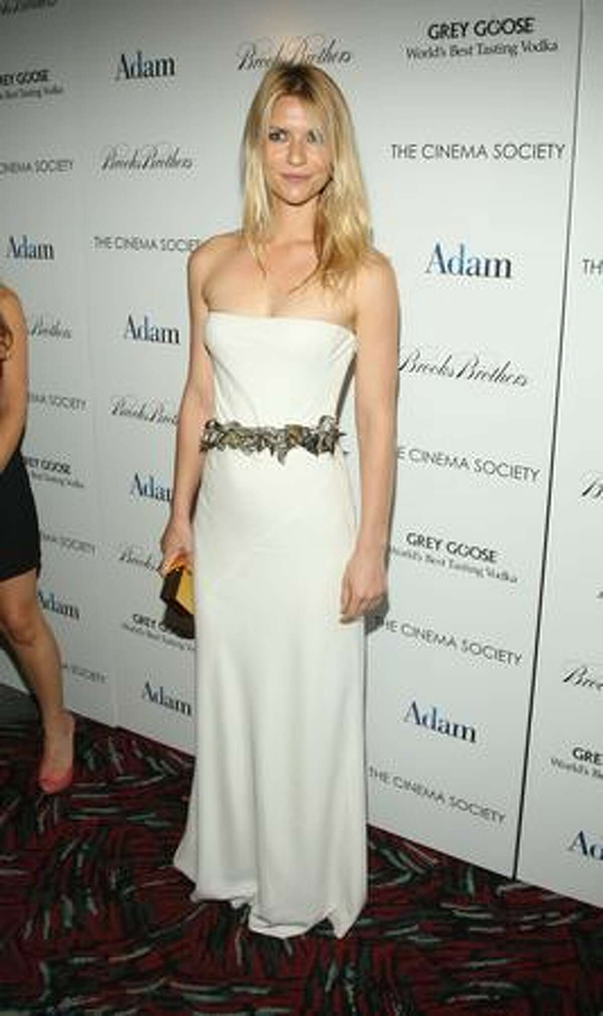Actress Claire Danes attends The Cinema Society & Brooks Brothers screening of