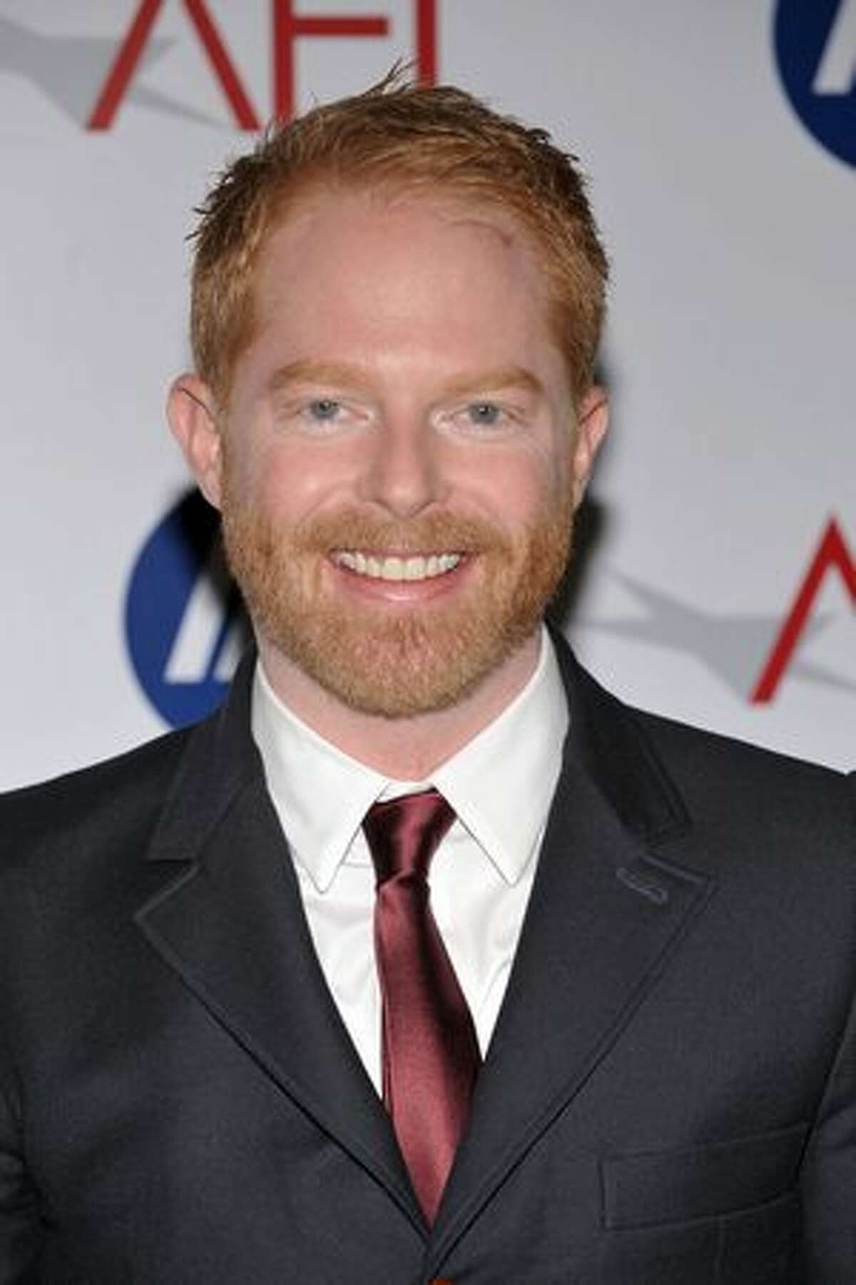 Actor Jesse Tyler Ferguson arrives at the Tenth Annual AFI Awards 2009 held at Four Seasons Beverly Hill in Los Angeles, California.
