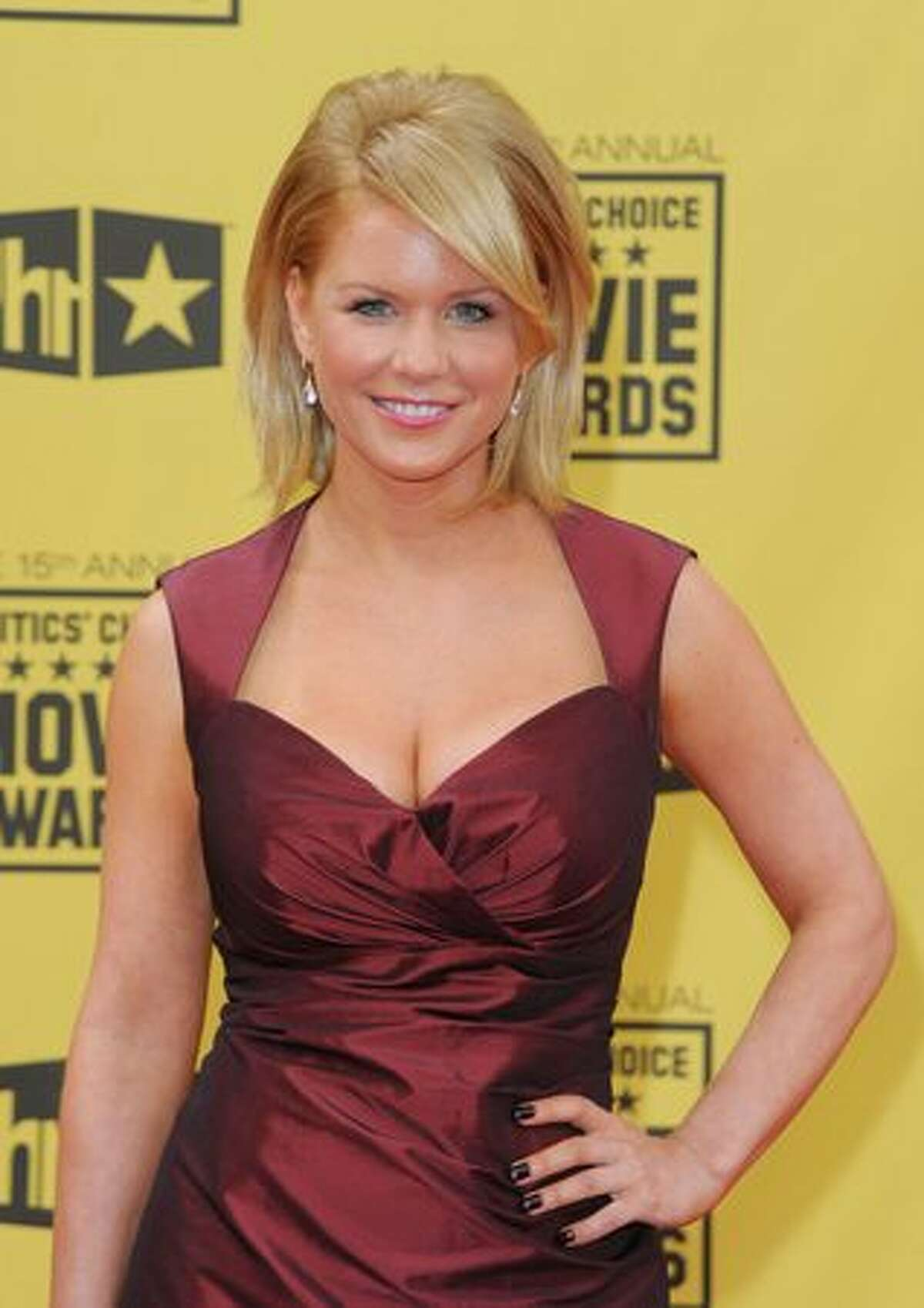 Actress Carrie Keagan arrives.
