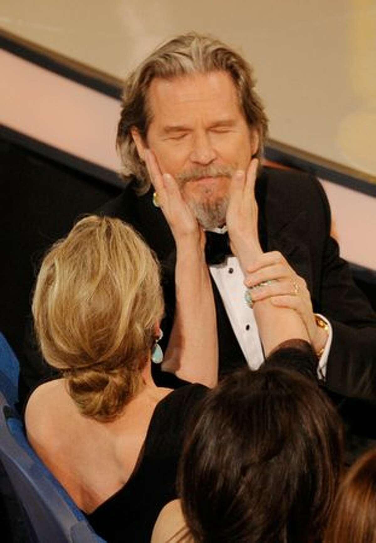 Actor Jeff Bridges, winner of Best Actor award for