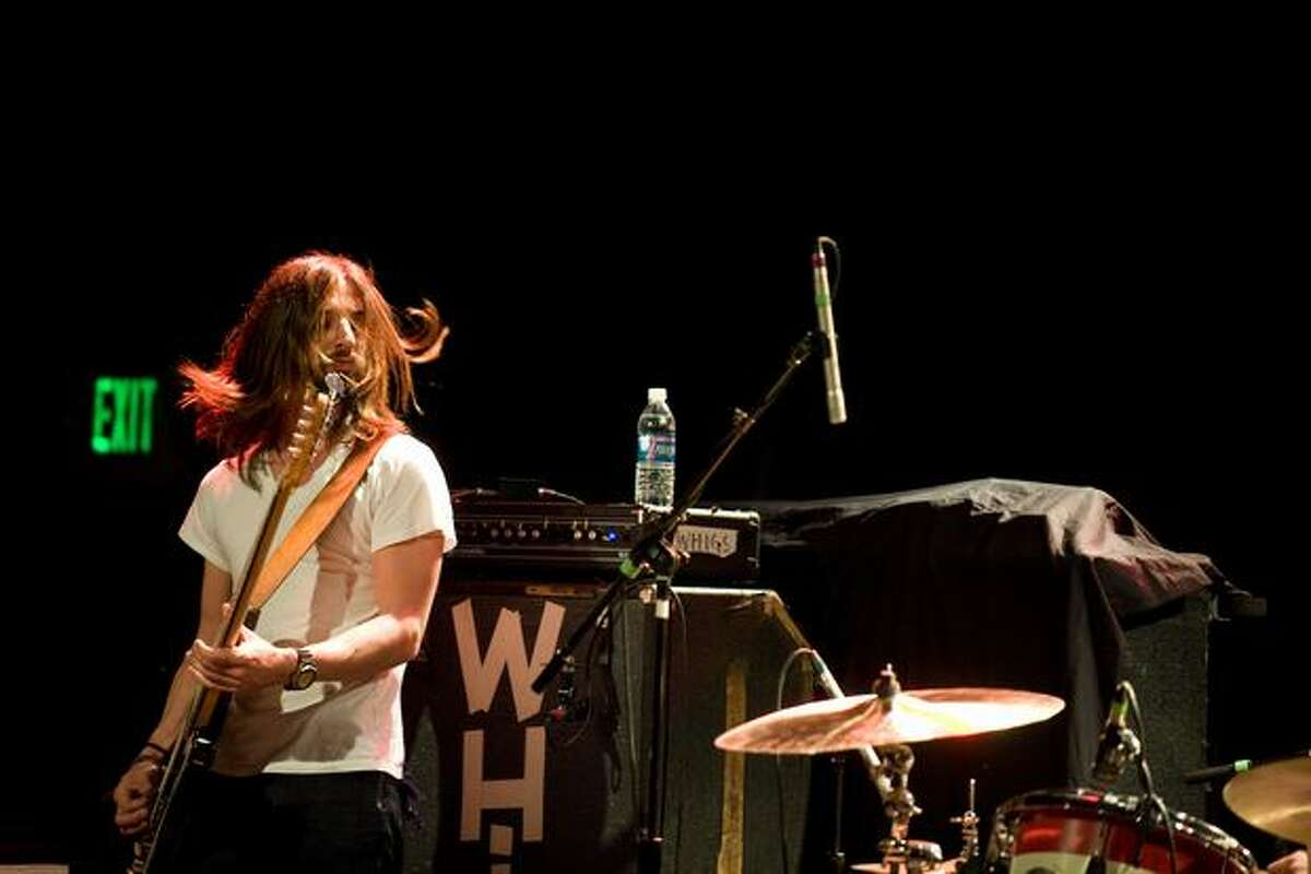 The Whigs at Showbox at the Market opening for Black Rebel Motorcycle Club on March 5, 2010. (Chona Kasinger / seattlepi.com)
