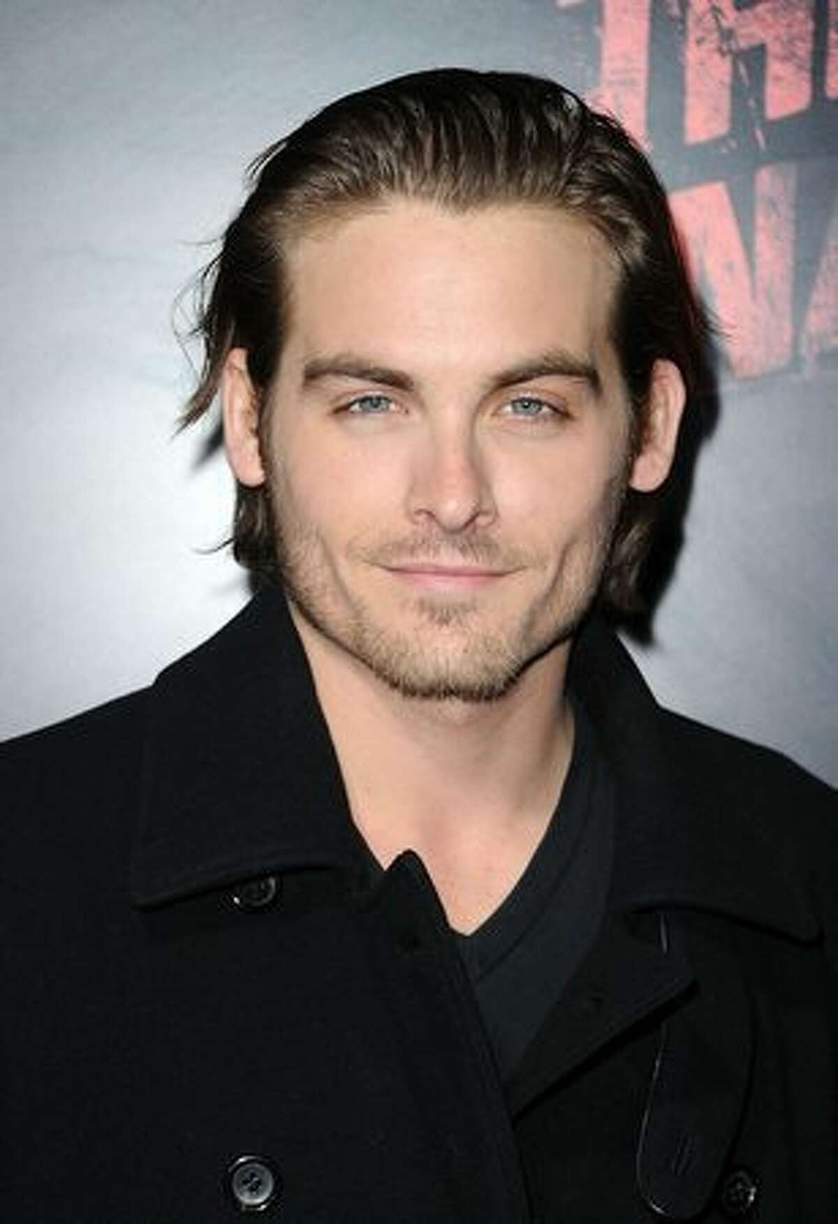 Actor Kevin Zegers arrives at the premiere of Apparition's