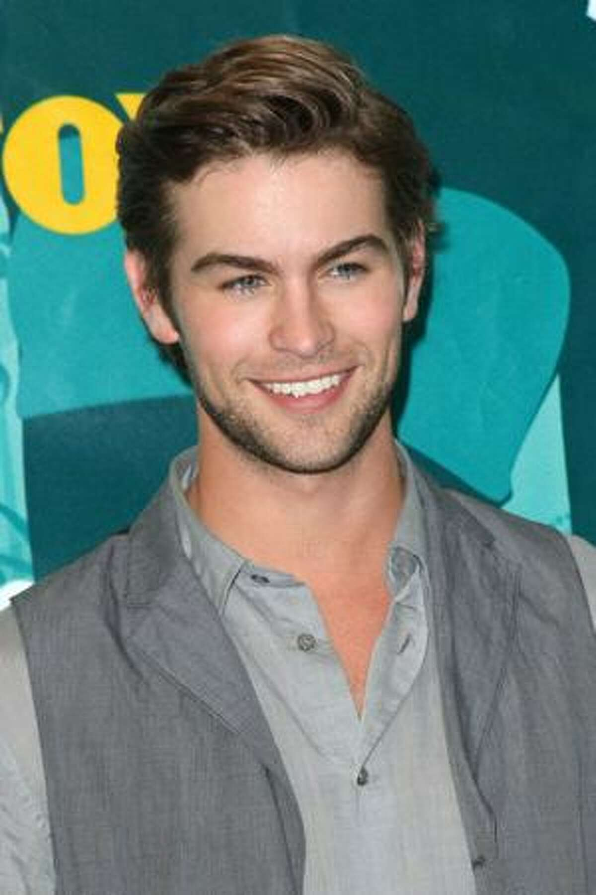 Actor Chace Crawford poses with Choice TV Actor award in press room during the 2009 Teen Choice Awards held at Gibson Amphitheatre on Sunday in Universal City, California.