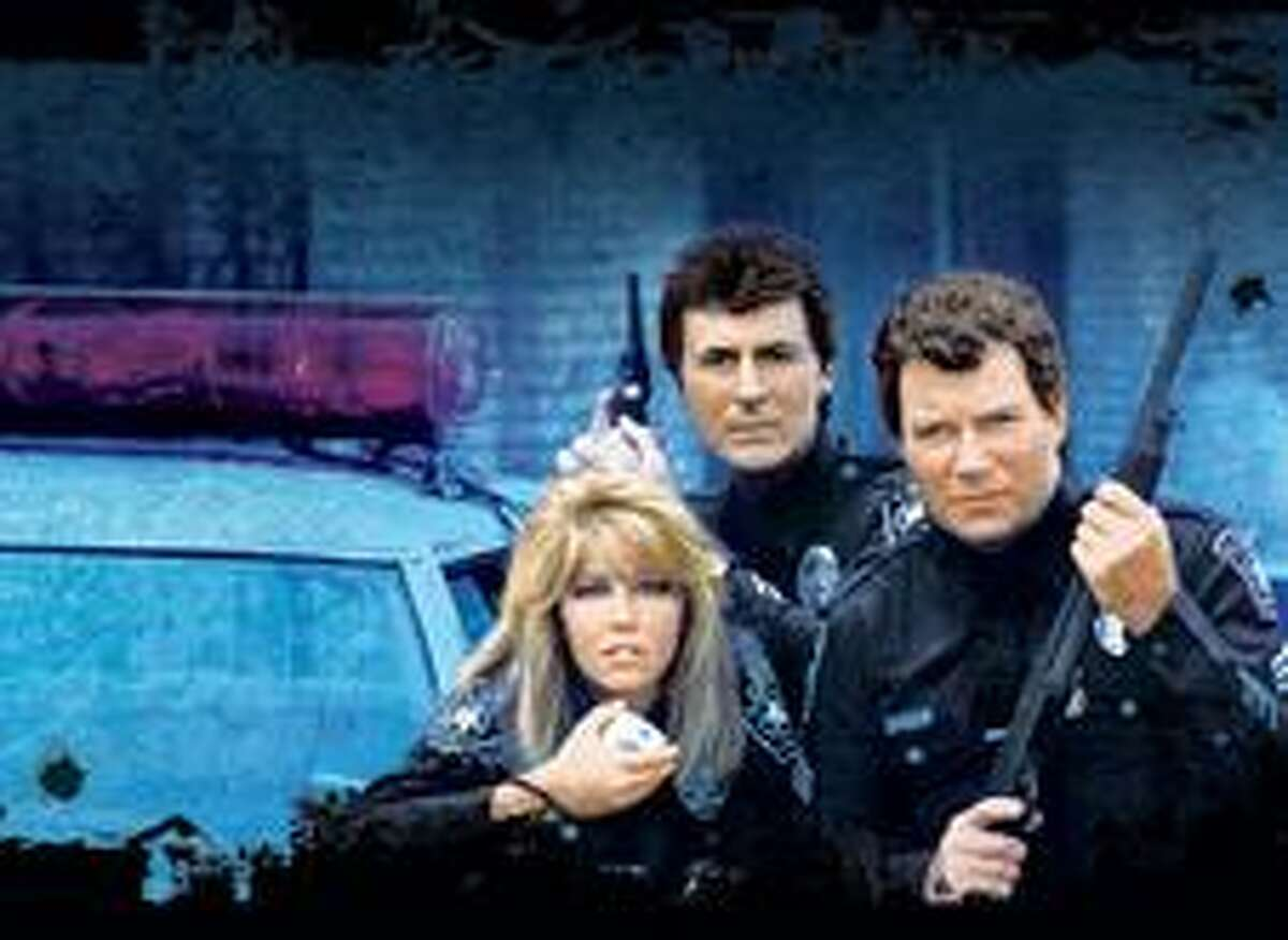 Heather Locklear, as Officer Stacy Sheridan, in the TV show