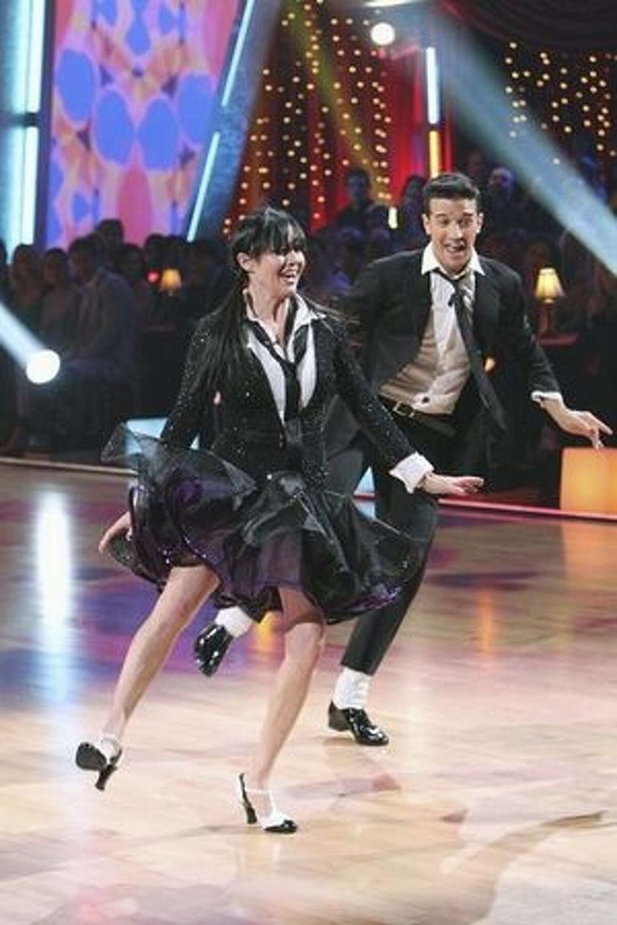 Shannen Doherty and Mark Ballas.