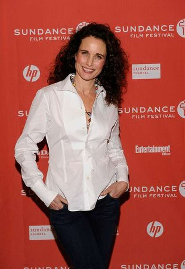 "Actress Andie MacDowell attends ""Howl"" Premiere during the 2010 Sundance Film Festival at Eccles Theatre in Park City, Utah. Photo: Getty Images"