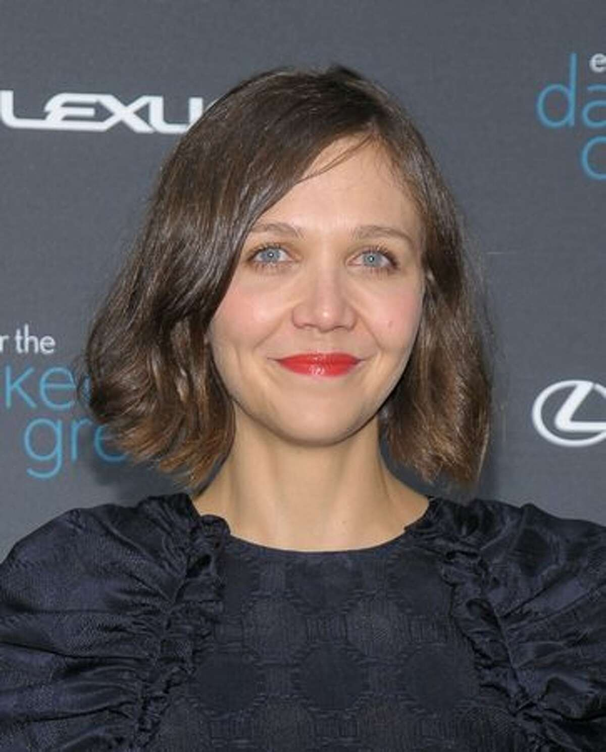 Actress Maggie Gyllenhaal attends The Darker Side of Green climate change debate at Skylight West in New York City.