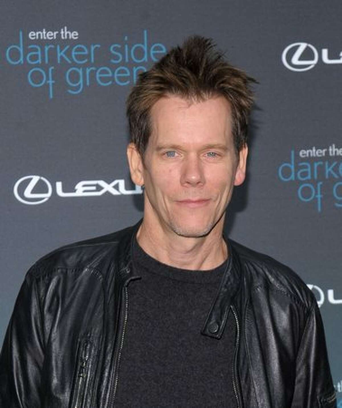 Actor Kevin Bacon attends The Darker Side of Green climate change debate at Skylight West in New York City.