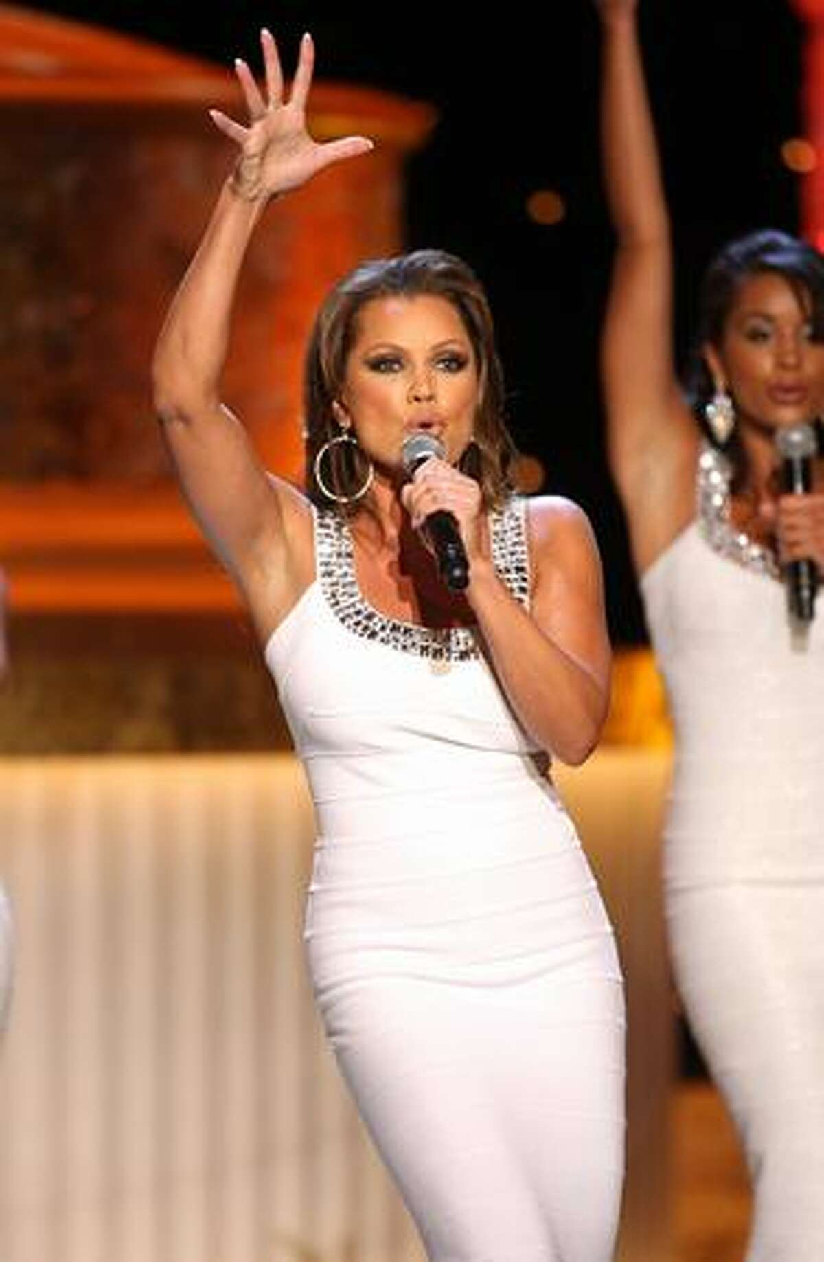 Host Vanessa Williams performs during the 36th Annual Daytime Emmy Awards at The Orpheum Theatre on Sunday in Los Angeles, Calif.