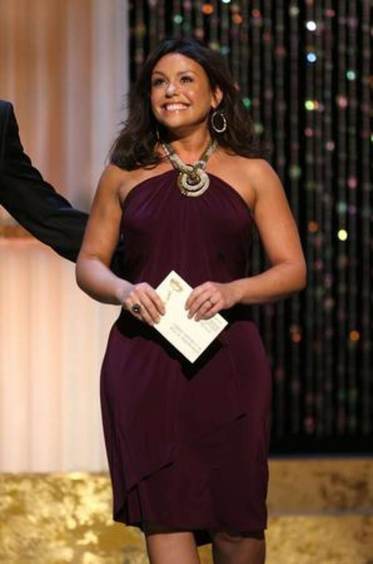 TV Personality Rachel Ray present the Outstanding Supporting Actor in a Drama Series during the 36th Annual Daytime Emmy Awards at The Orpheum Theatre on Sunday in Los Angeles, Calif.