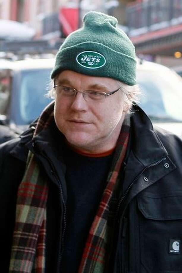 Philip Seymour Hoffman attends the 2010 Sundance Film Festival in Park City, Utah. Photo: Getty Images