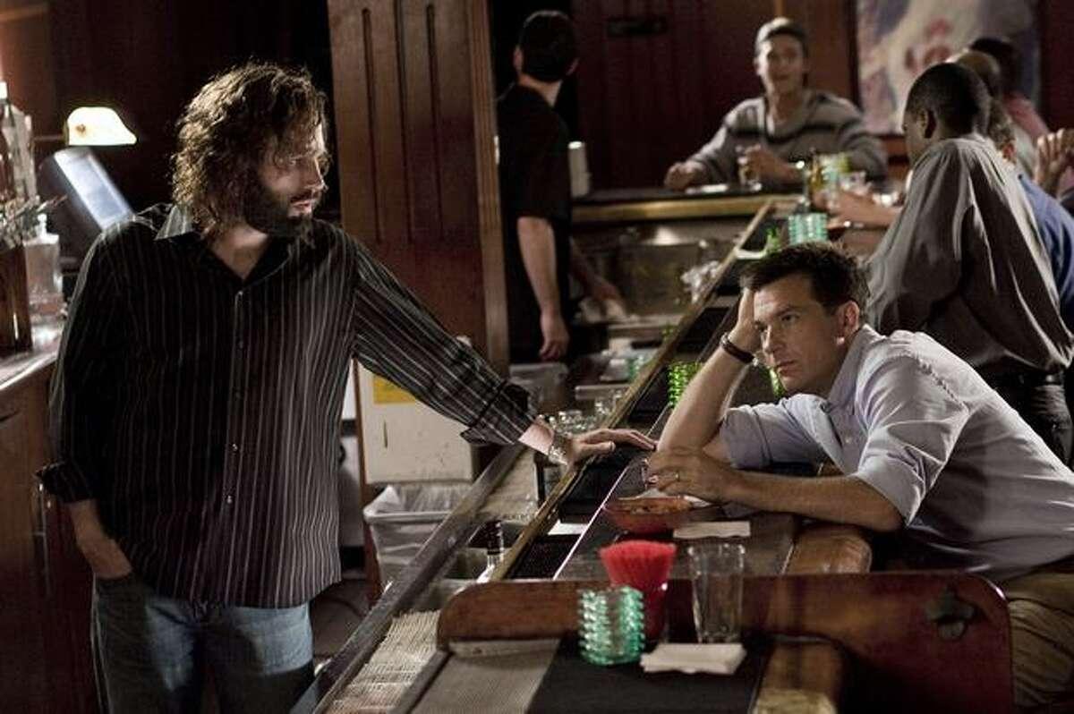 Ben Affleck as Dean and Jason Bateman as Joel.