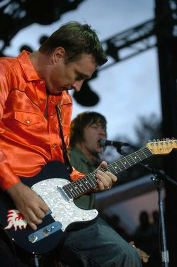 The Old 97's perform on the Samsung Mainstage during day 1 of Bumbershoot Saturday in Seattle. Photo: Daniel Berman, Seattlepi.com