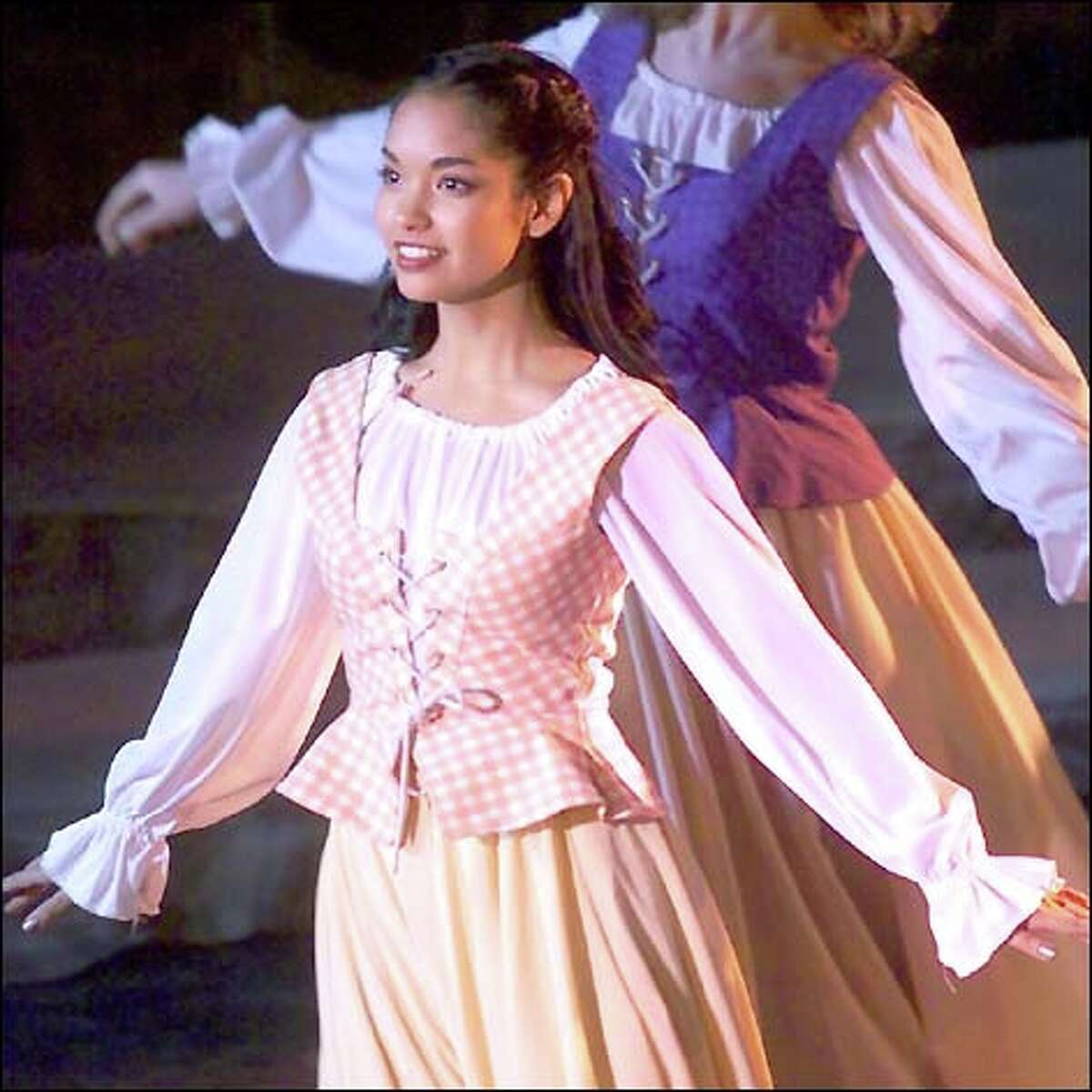 Janelle Velasquez dances in the opening-night performance of