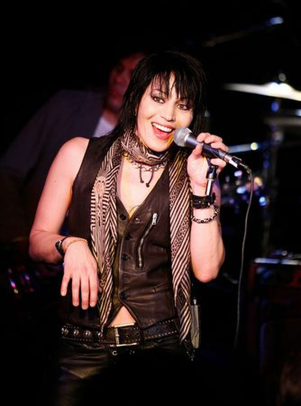 Joan Jett - Looked up to by rock girl wannabes all over the world, the Runaways founding member has appeared on several dates, opening for artists like Def Leppard, and most recently at Sundance, where a film about her life is making the rounds.