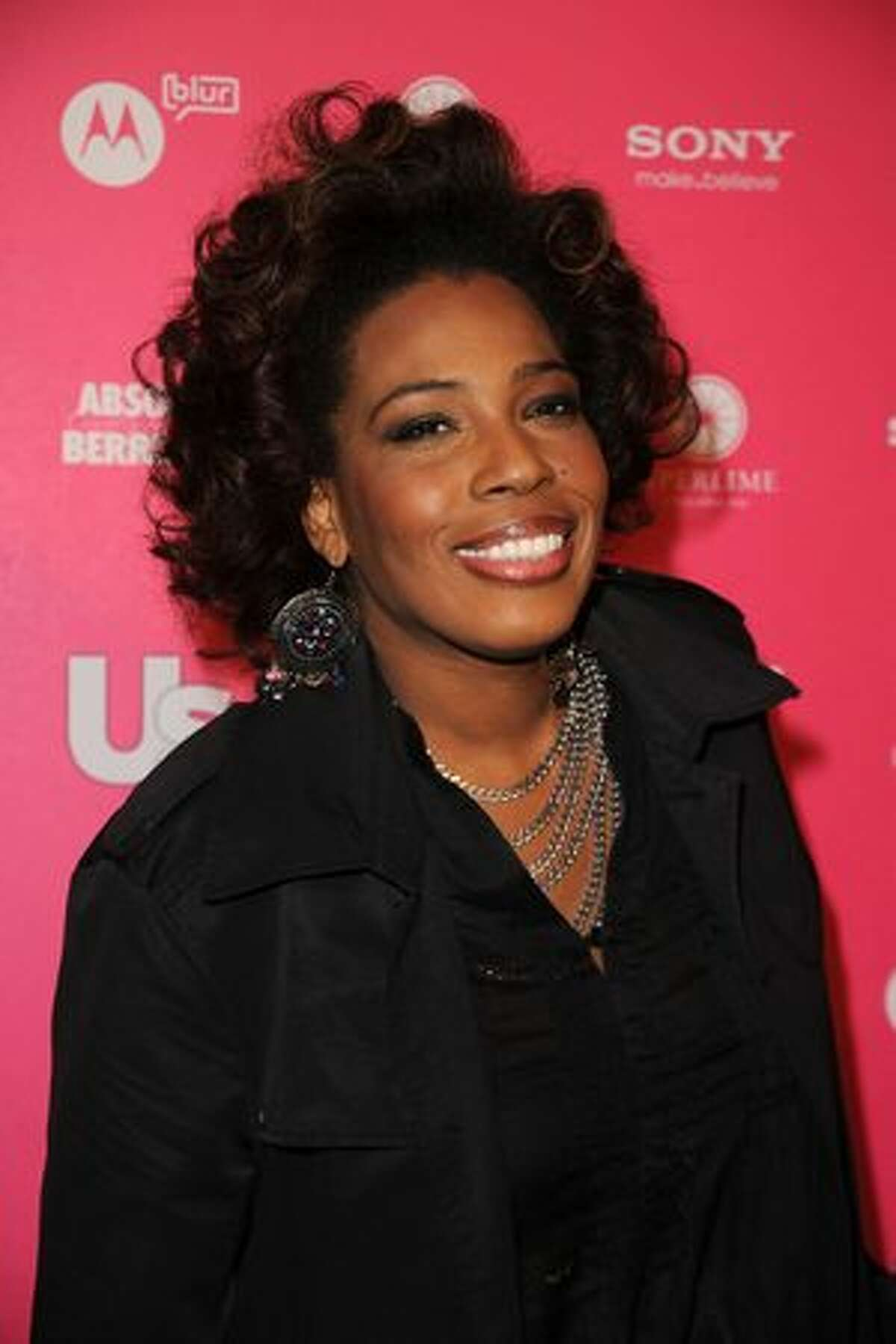 Singer Macy Gray arrives at the Us Weekly Hot Hollywood Style Issue celebration held at Drai's Hollywood at the W Hollywood Hotel in Hollywood, California.