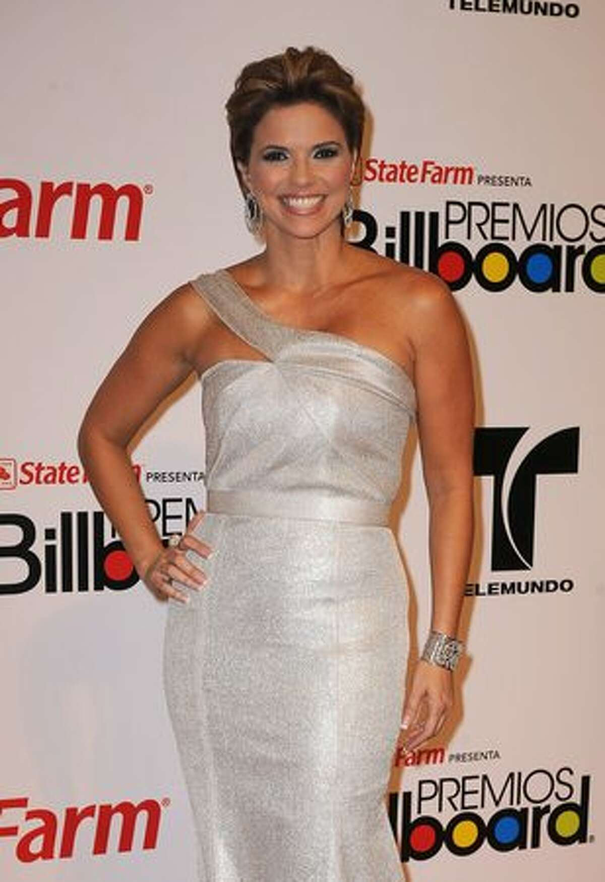 TV personality Rashel Diaz attends the 2010 Billboard Latin Music Awards at Coliseo de Puerto Rico José Miguel Agrelot on April 29, 2010 in San Juan, Puerto Rico.