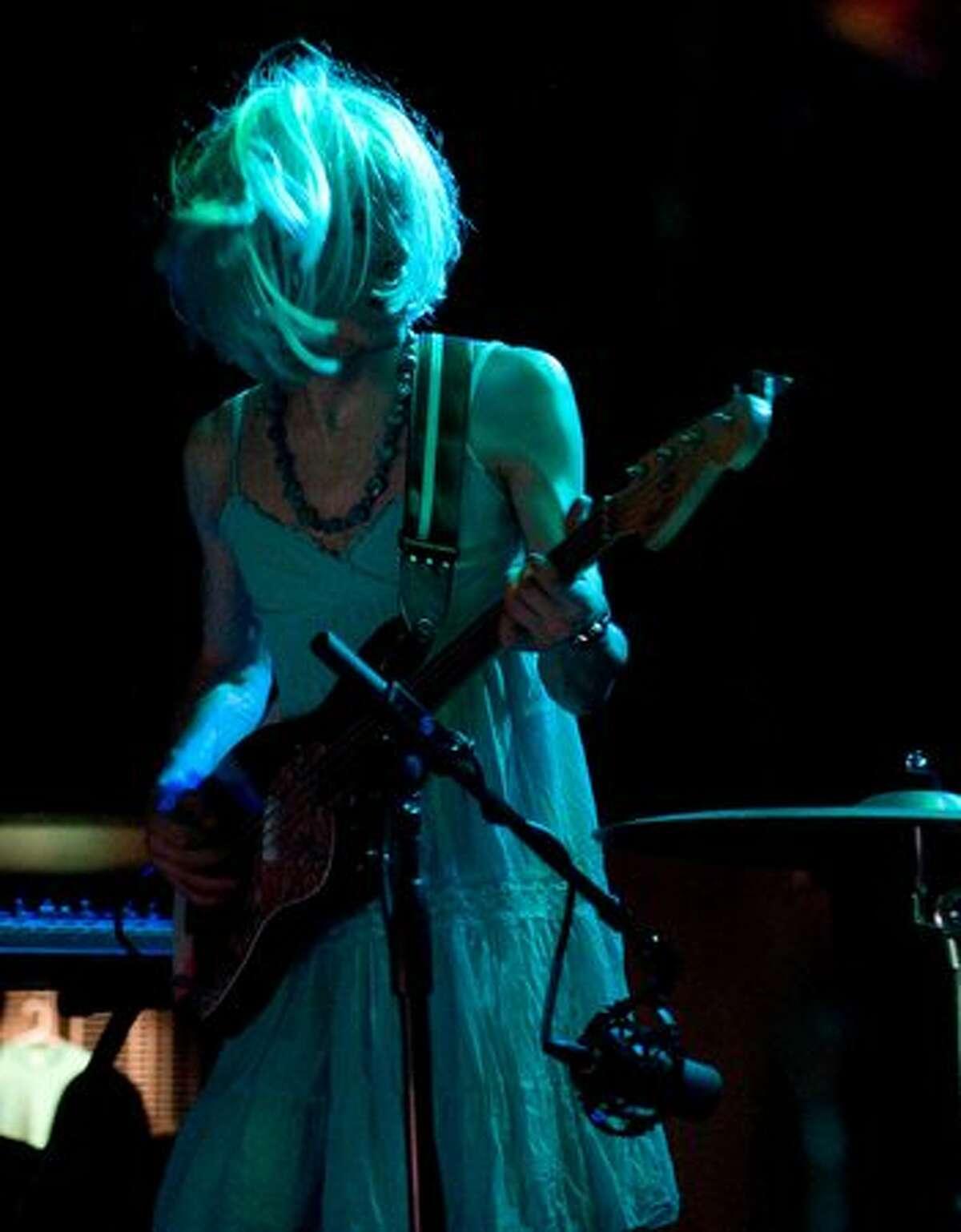 Portland band Starf***er perform at Neumos on May 10, 2010.