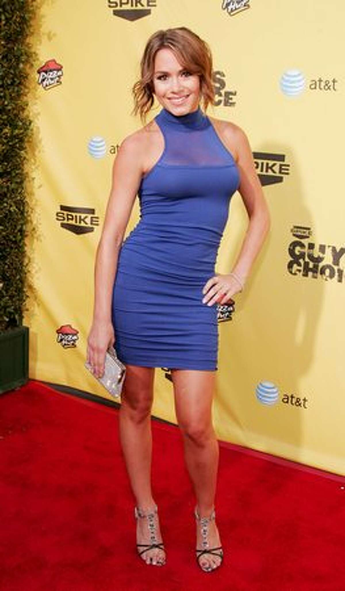 """No. 36: Model and Ultimate Fighting Championship """"Octagon Girl"""" Rachelle Leah (June 9, 2007)."""