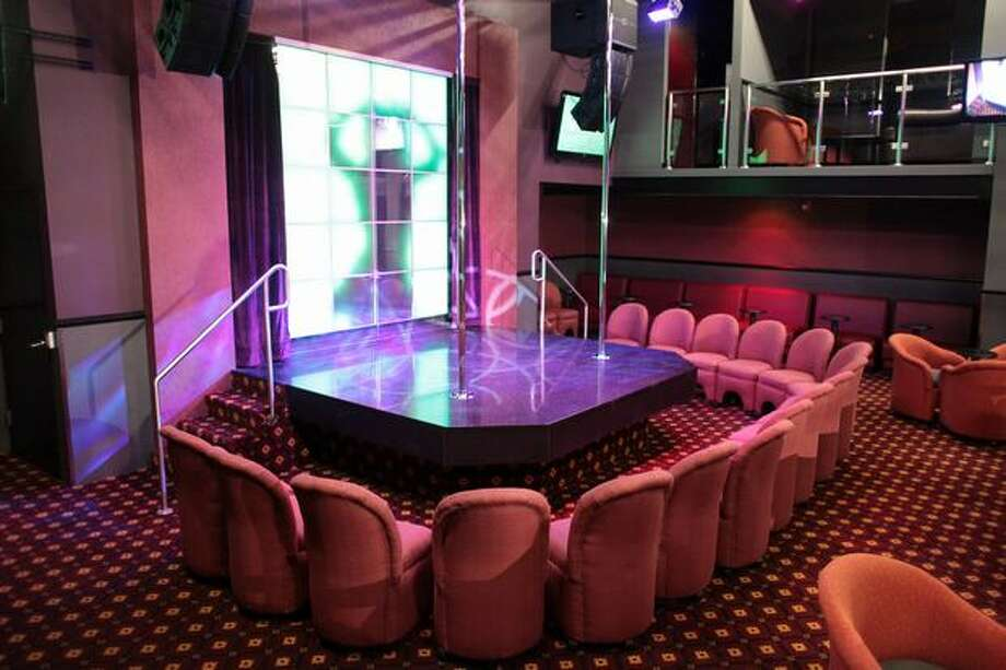 The main stage is shown during a press tour of Dream Girls, the Déjà Vu chain's newest strip club at 1530 First Avenue South. Photo: Joshua Trujillo, Seattlepi.com / seattlepi.com
