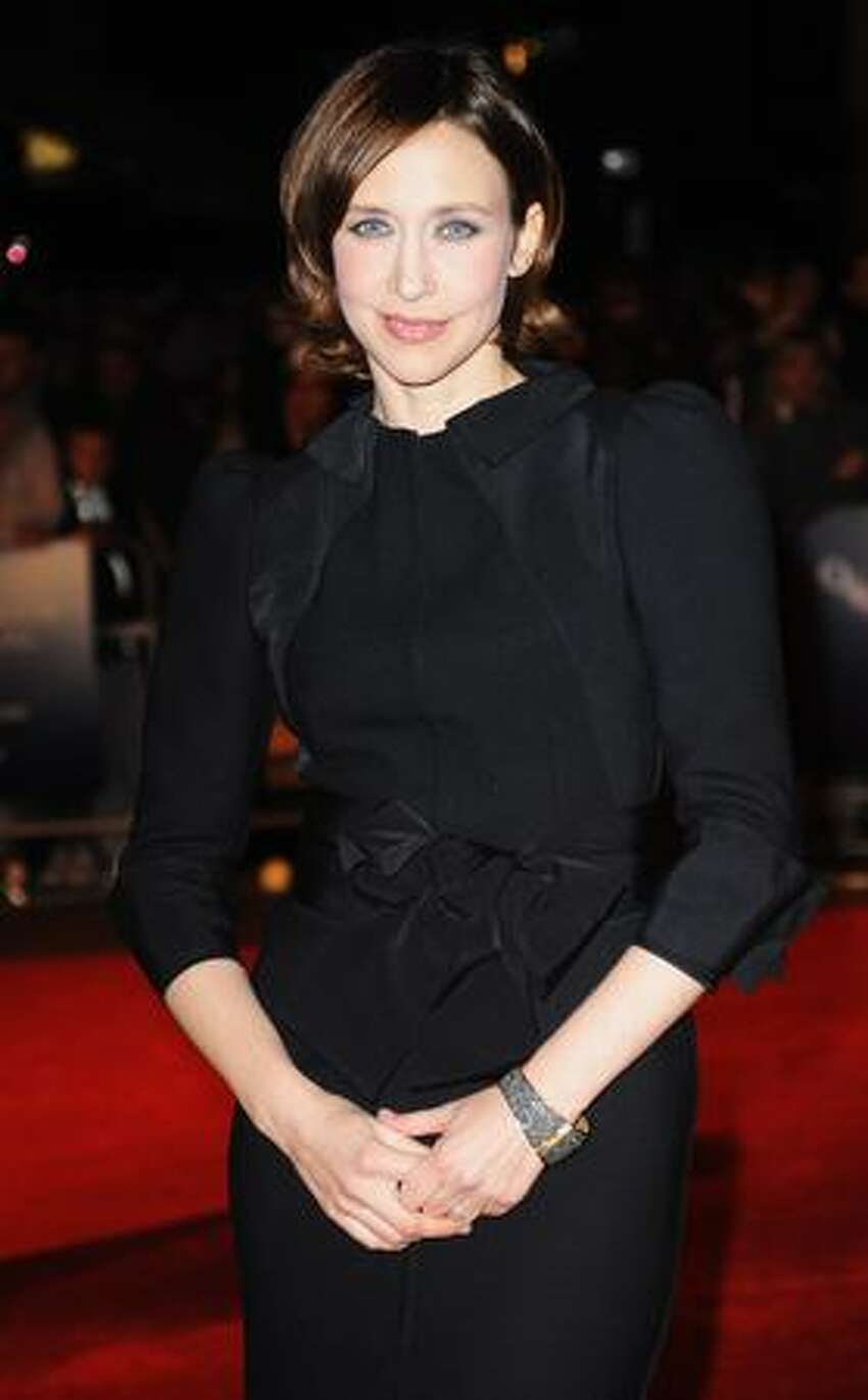 Actress Vera Farmiga arrives for the premiere of 'Up In The Air' during the Times BFI 53rd London Film Festival at the Vue West End in London, England.