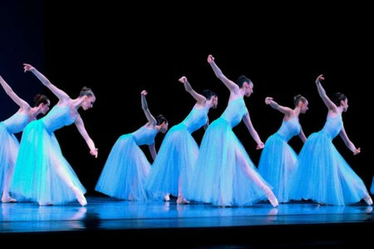 Dancers of the Pacific Northwest Ballet perform