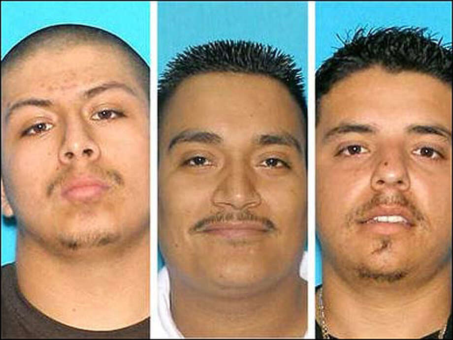 From left: Christian Rangel, 29; Yazmani Quezada-Ortiz, 26; and Jesus Avila-Bejar, 25.