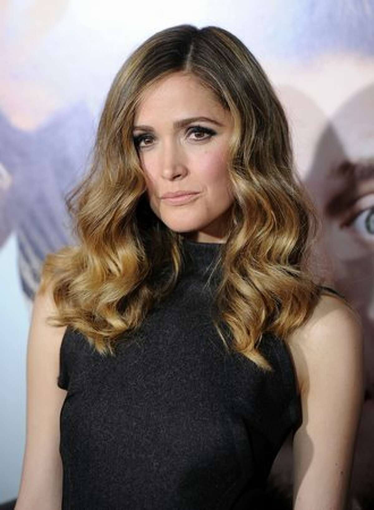 """Actress Rose Byrne arrives at the premiere of Universal Pictures' """"Get Him To The Greek"""" held at the Greek Theatre in Los Angeles, California."""
