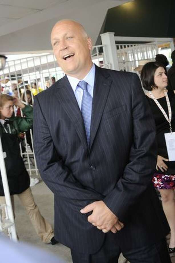 Hall of Fame baseball player Cal Ripken Jr. attends the 136th Kentucky Derby in Louisville, Kentucky. Photo: Getty Images