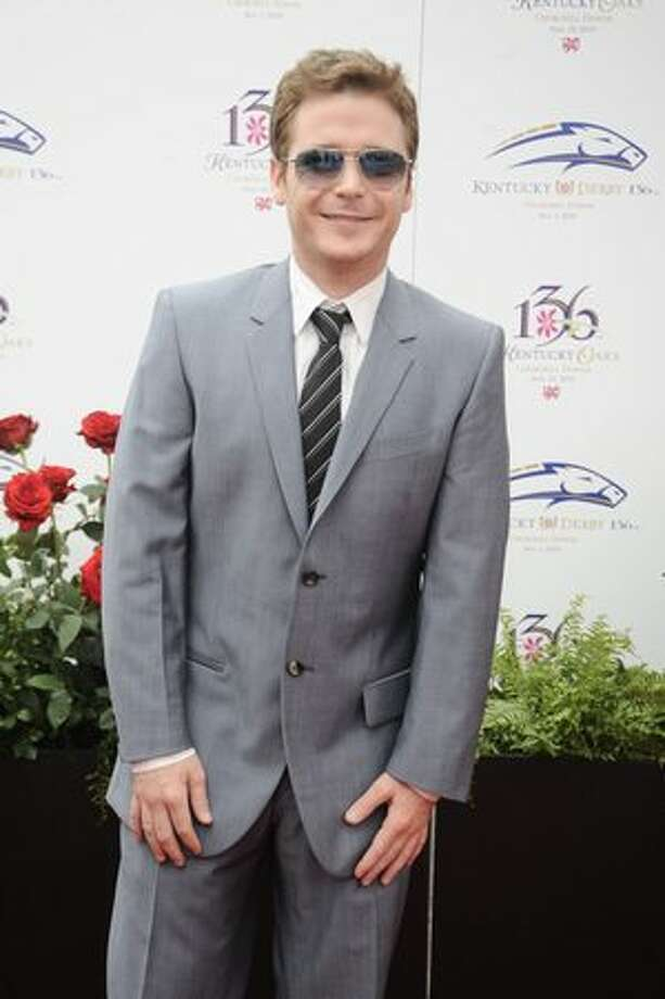 Kevin Connolly attends the 136th Kentucky Derby in Louisville, Kentucky. Photo: Getty Images