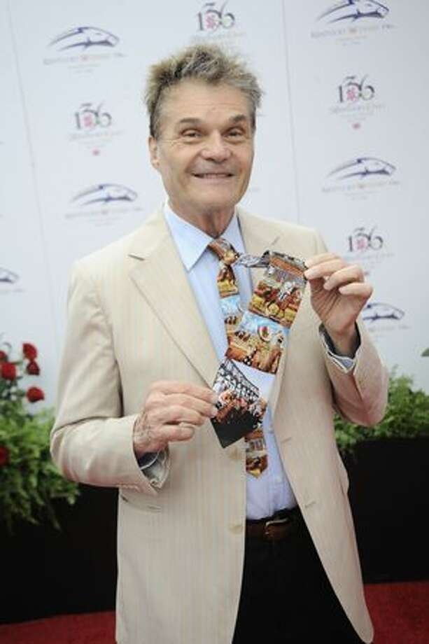 Fred Willard attends the 136th Kentucky Derby in Louisville, Kentucky. Photo: Getty Images