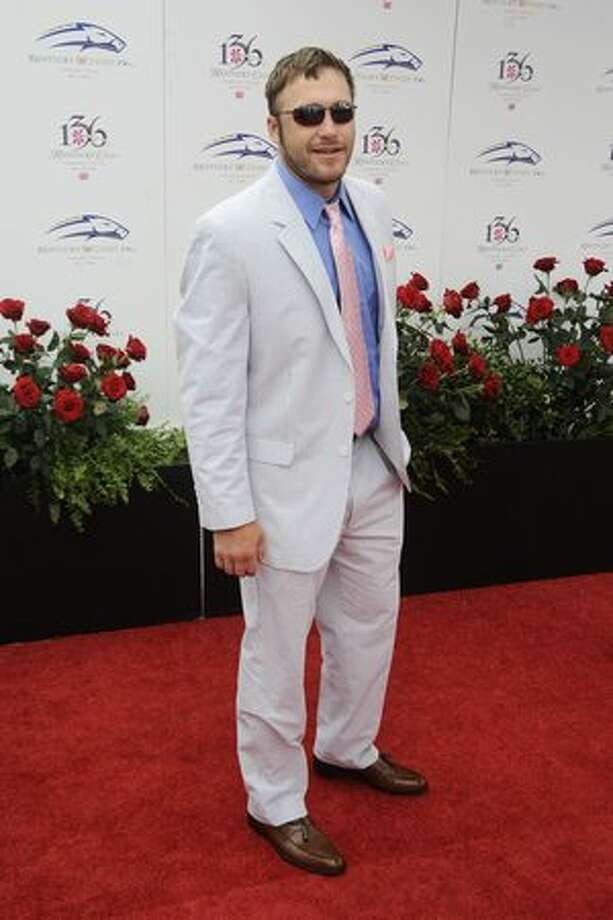US Olympic gold medal winner Bodie Miller attends the 136th Kentucky Derby in Louisville, Kentucky. Photo: Getty Images