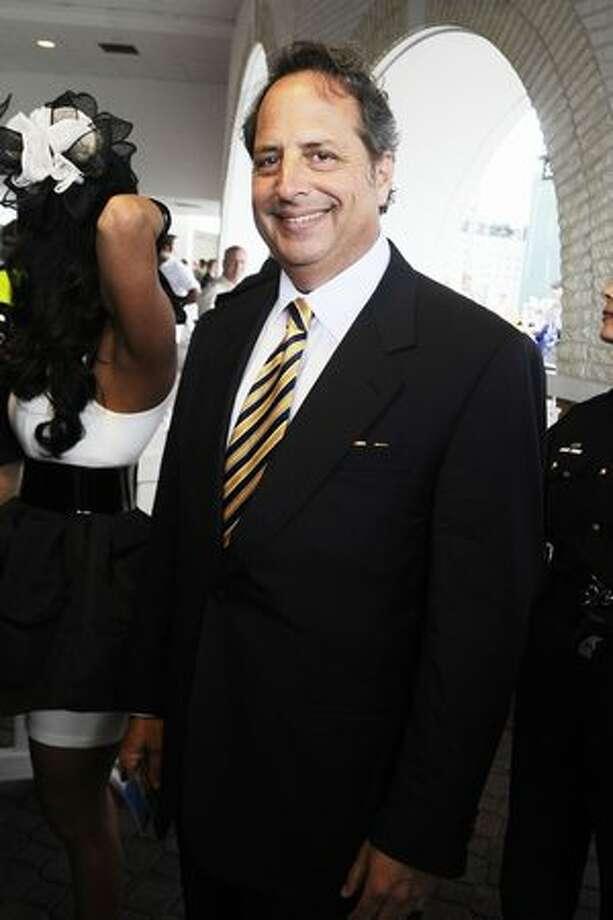 Jon Lovitz attends the 136th Kentucky Derby in Louisville, Kentucky. Photo: Getty Images
