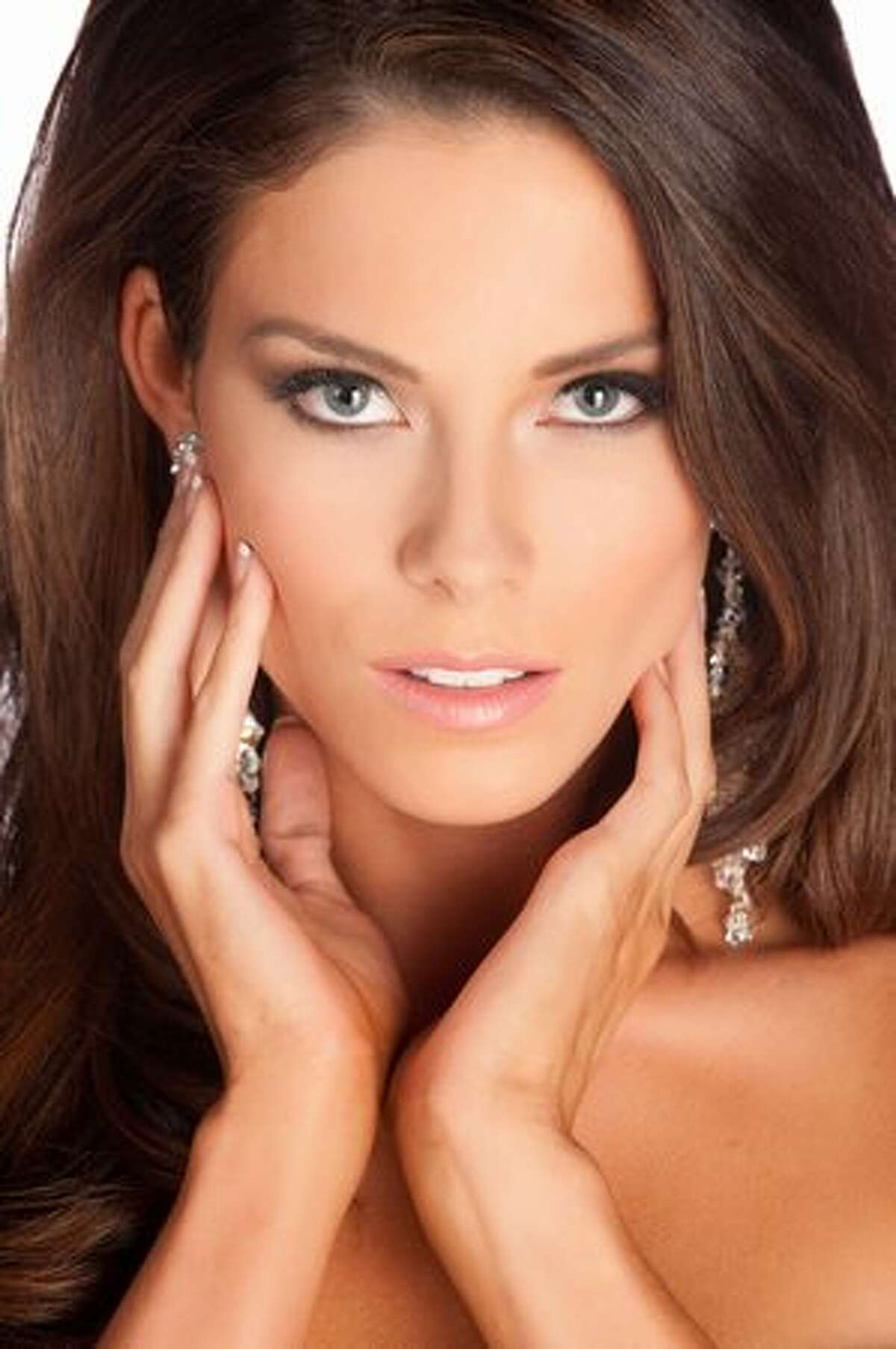 Adrielle Churchill, Miss Arkansas USA, of Dover.