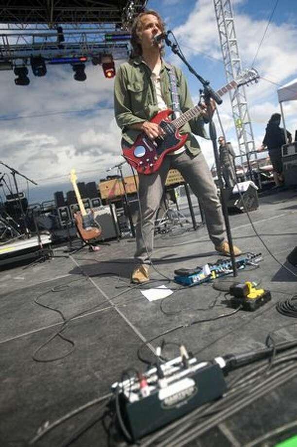 Quasi performing at Sasquatch! Music Festival on Monday. Photo: Chona Kasinger, Seattlepi.com