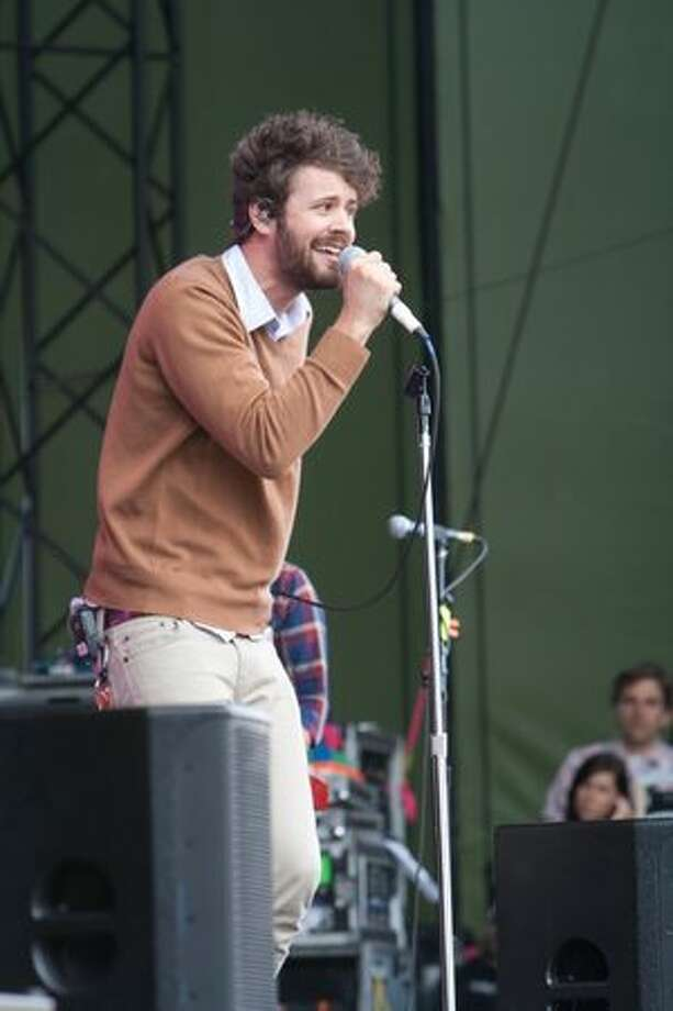 Passion Pit performing at Sasquatch! Music Festival on Monday. Photo: Humberto Martinez, Seattlepi.com