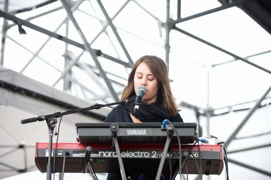 AVI Buffalo performing at Sasquatch! Music Festival at the Gorge Amphitheatre on Sunday. Photo: Chona Kasinger, Seattlepi.com