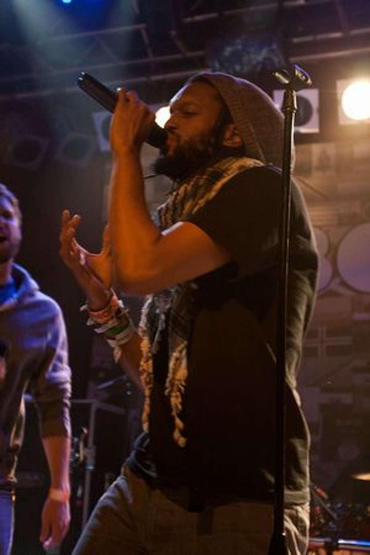 Denver hip-hop/rock group FLOBOTS performing at Neumos on May 9, 2010.