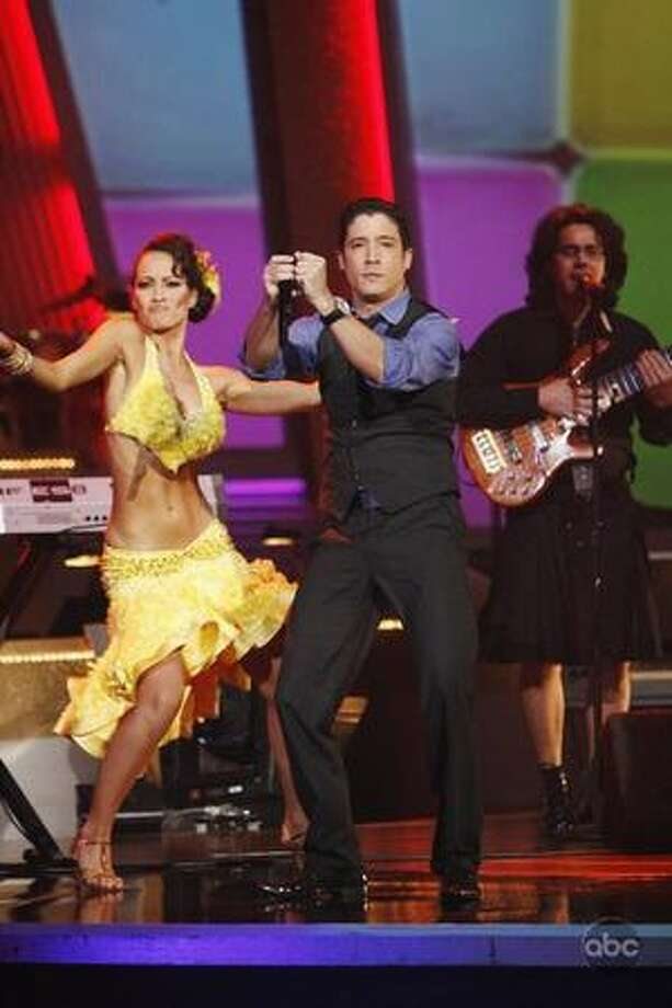 "Cuban superstars Tiempo Libre took to the stage to performing ""Tu Conga Bach."" Photo: ABC"