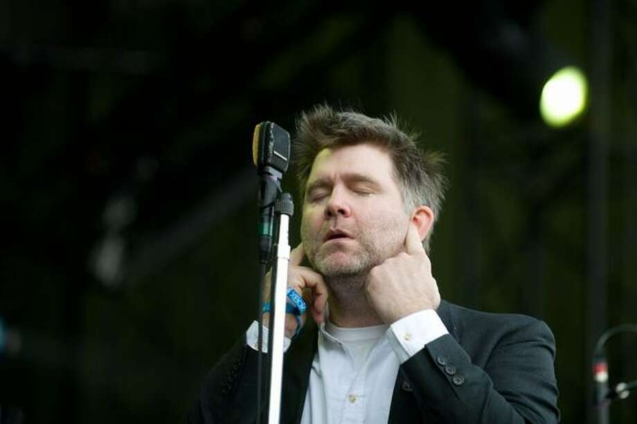 LCD Soundsystem performing at the Sasquatch! Music Festival on Sunday. Photo: Chona Kasinger, Seattlepi.com
