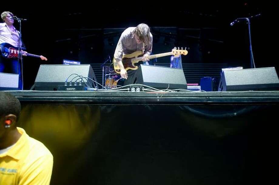 Pavement performign at Sasquatch! Music Festival on Sunday. Photo: Chona Kasinger, Seattlepi.com